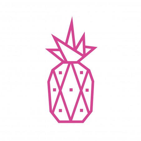 kit diy masking tape ananas rose