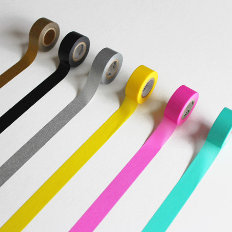 rouleau de masking tape coloris au choix