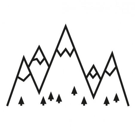 kit diy masking tape montagne noir