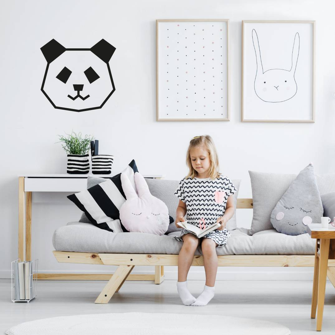 Kit DIY Panda en masking tape