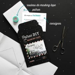 Packaging kit DIY pour masking tape hexagones