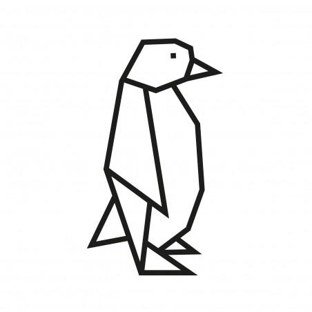 Kit DIY pour masking tape pingouin noir