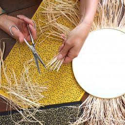 Atelier DIY miroir avec sérigraphie papier Amiens