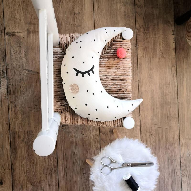 Atelier DIY coussin lune