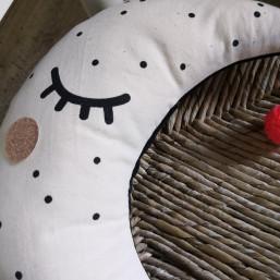 Atelier DIY sérigraphie coussin lune