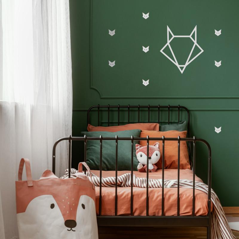Stickers déco renard chambre enfant